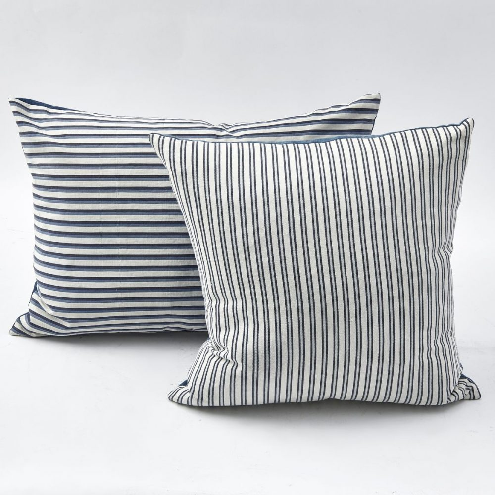French Ticking Cushions