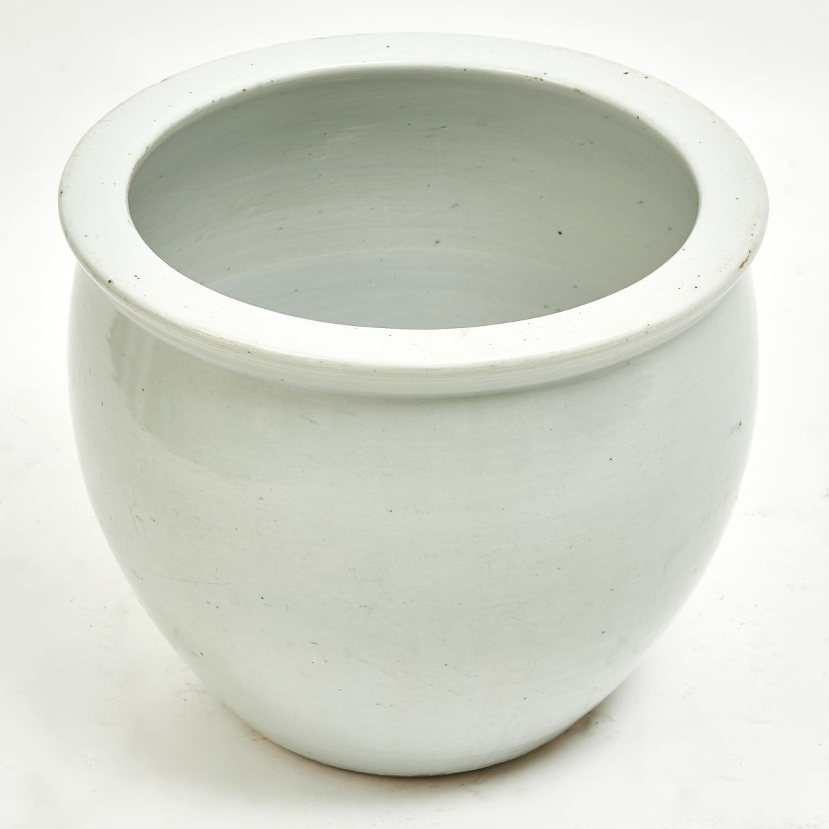 Chinese White Porcelain Fishbowl