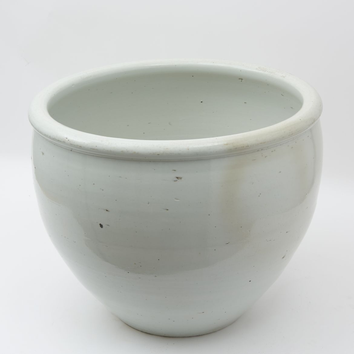 Chinese White Glaze Fishbowl