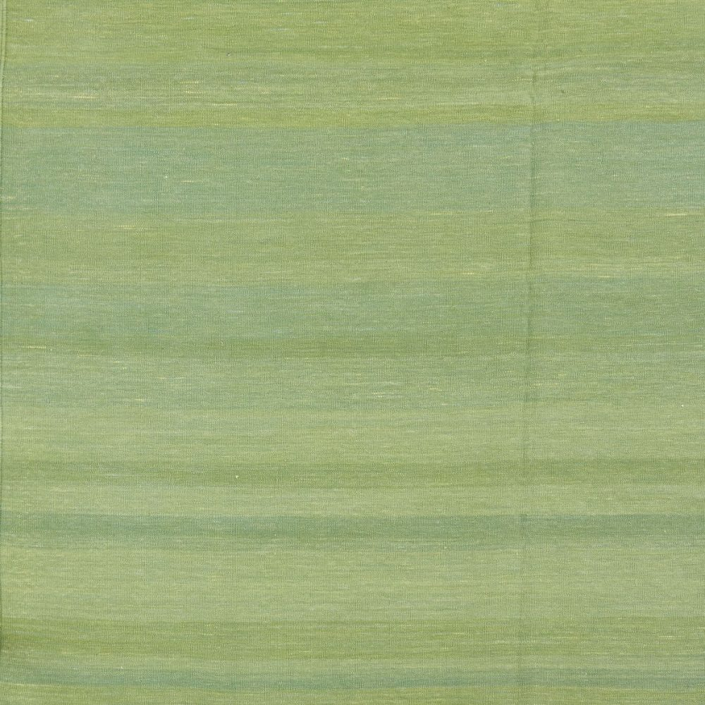Contemporary Green Dhurrie