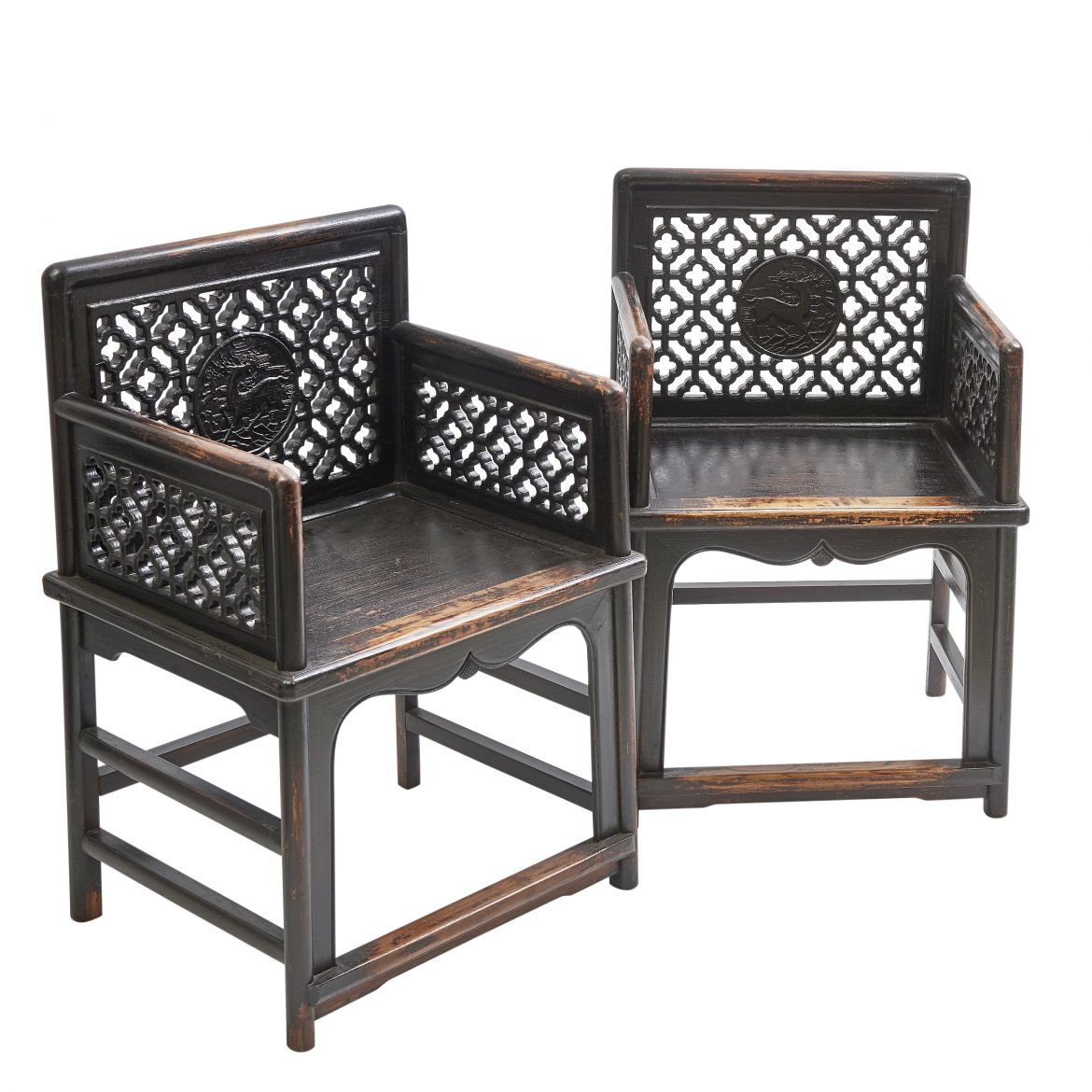 Chinese Elm Court Chairs