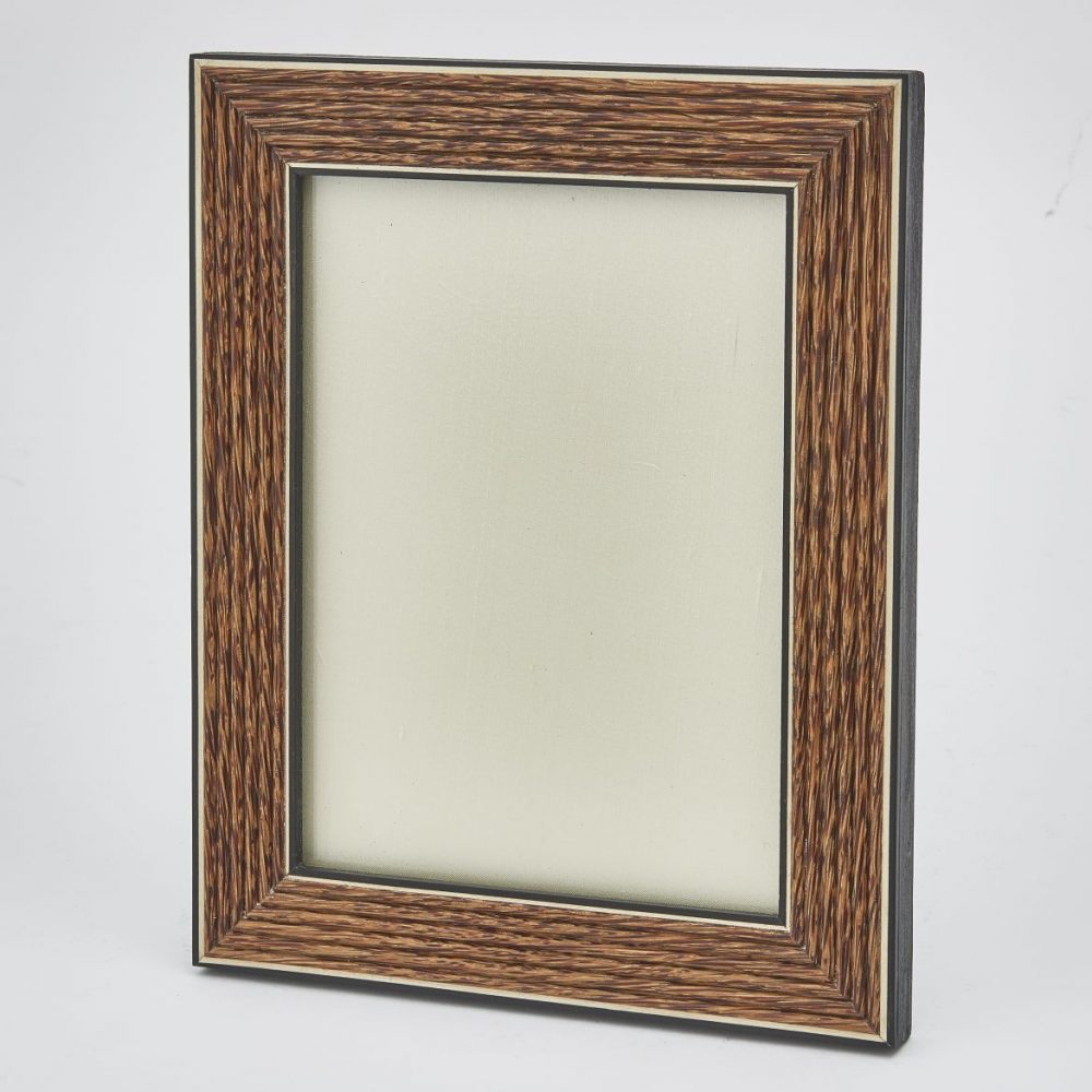 Palm Wood Reeded Frame