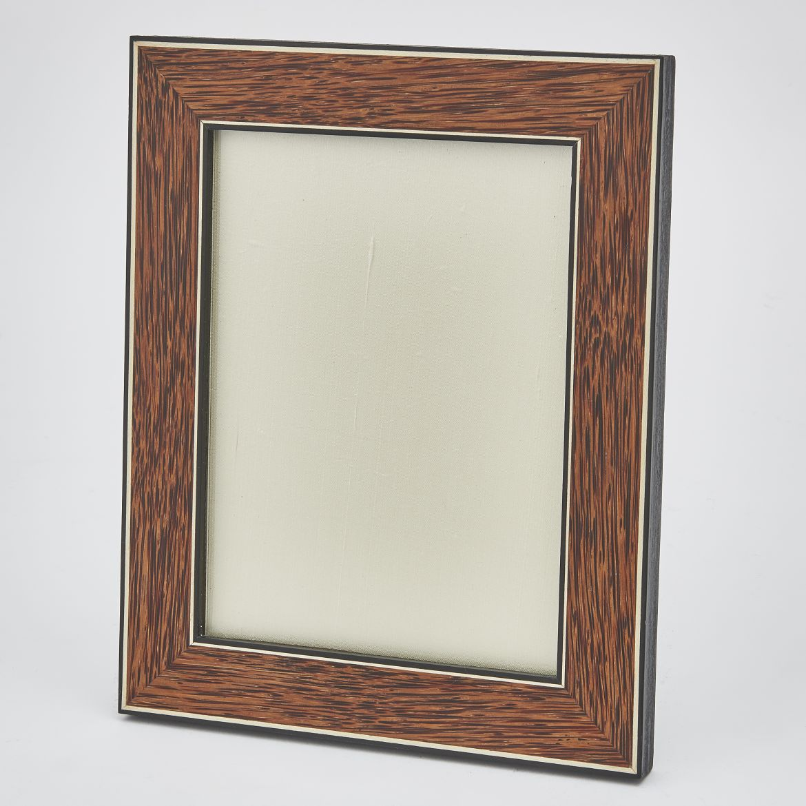 Palmwood Frame Edged in Ebony