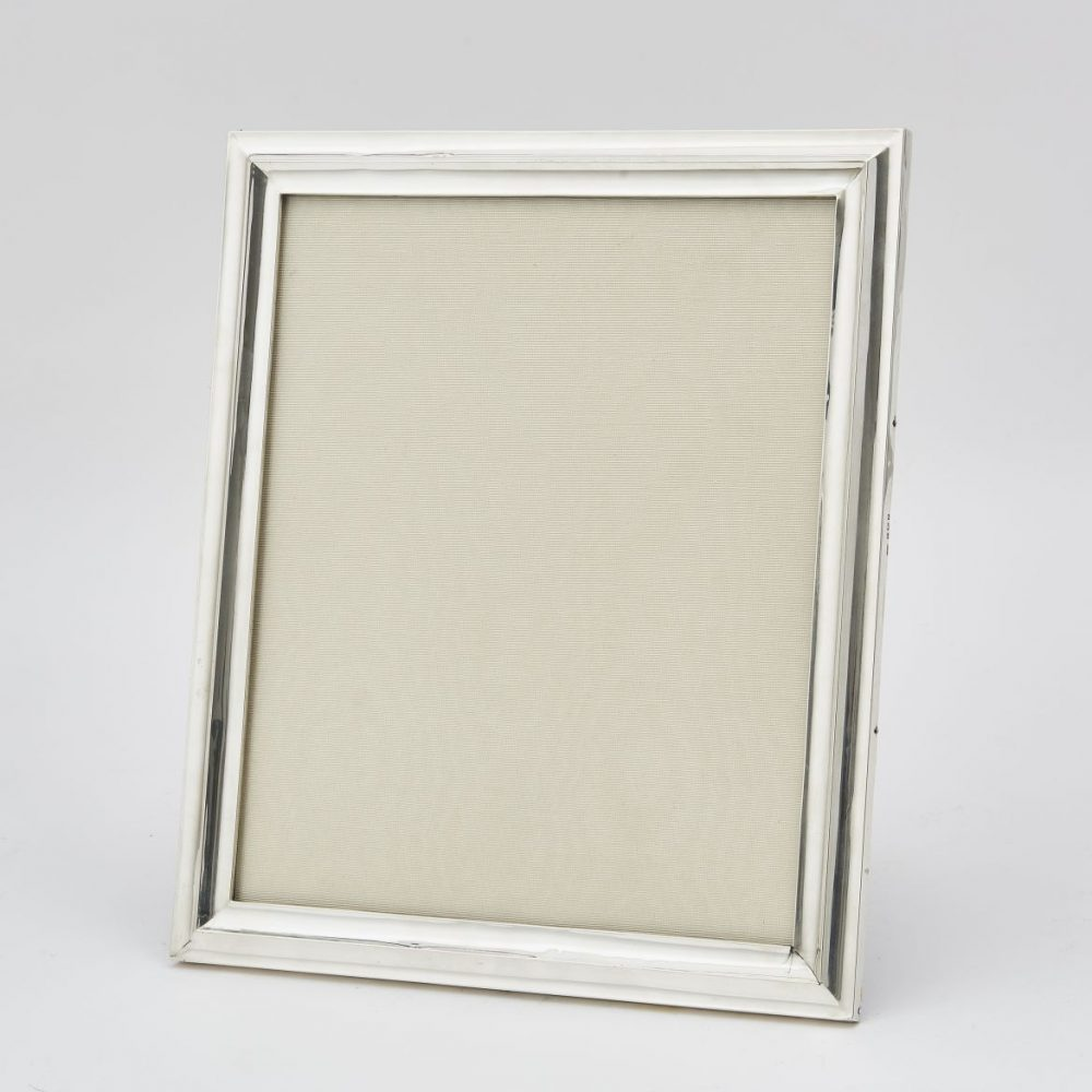 Silver Photo Frame Stamped Chester