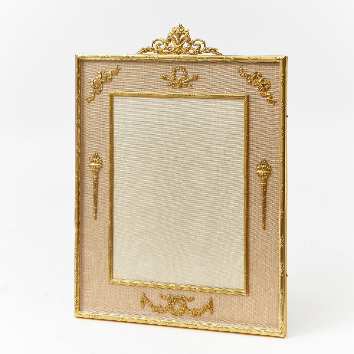 Ormolu Frame With Anthemion Crest