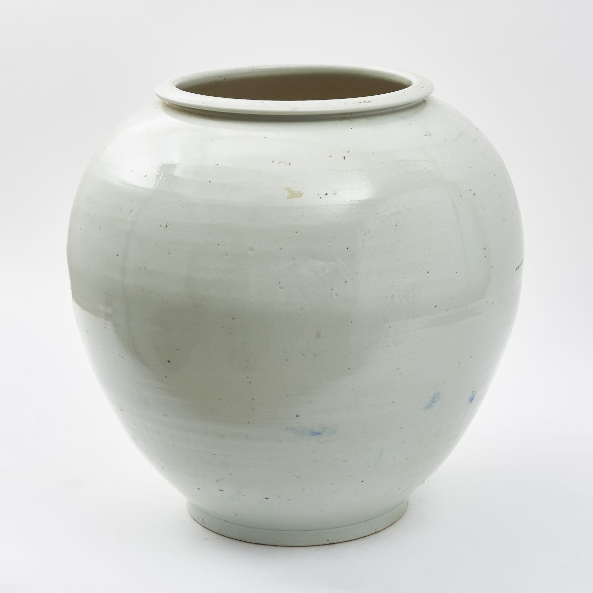 Chinese Blanc De Chine Temple Jar