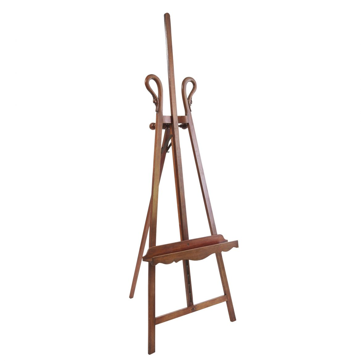 French Louis Philippe Mahogany Display Easel
