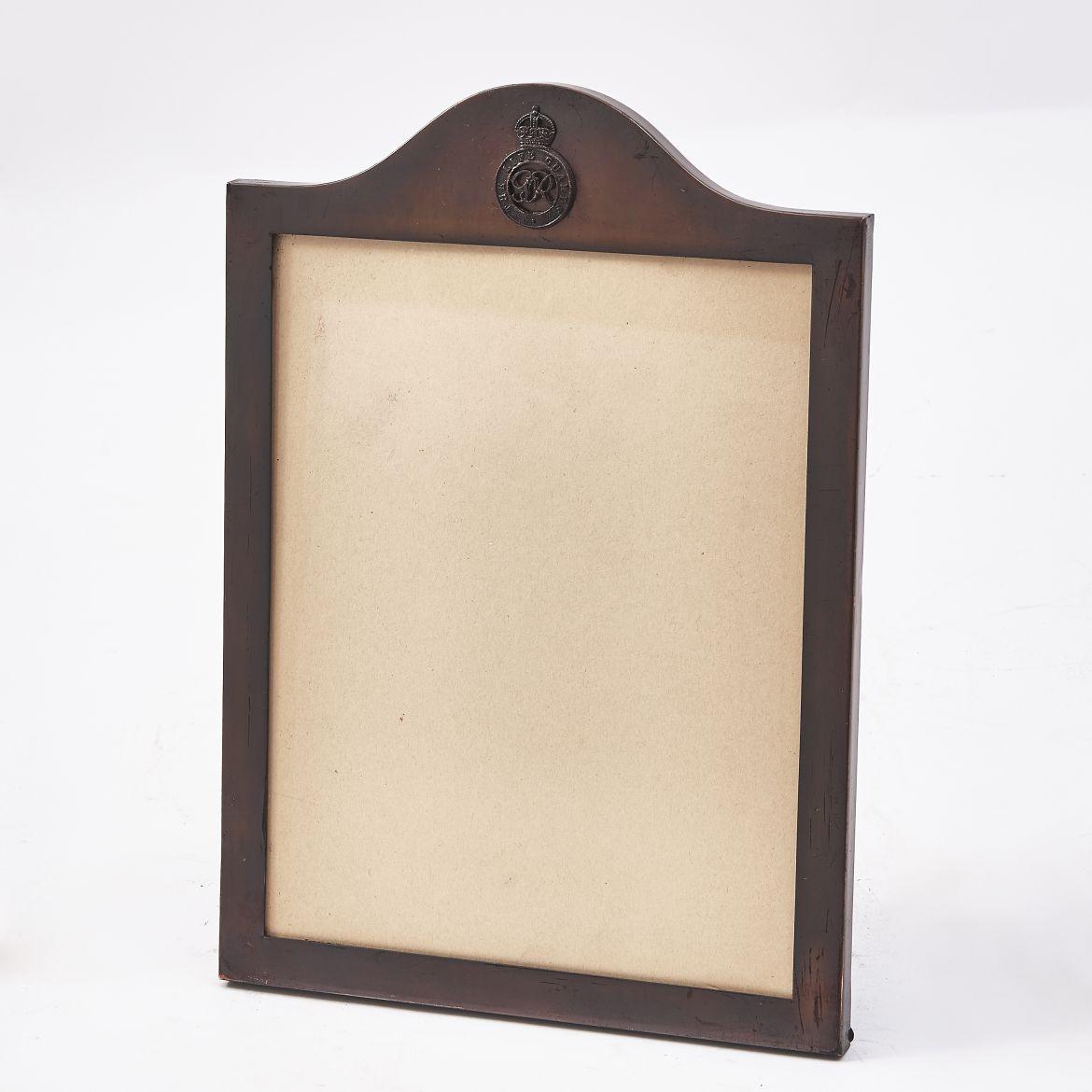 Patinated Copper Regimental Photo Frame