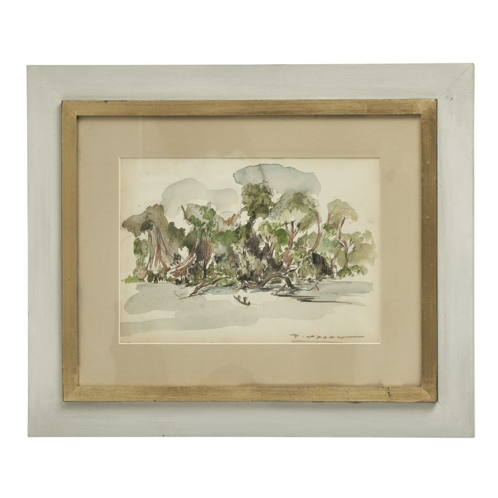 Painting Of An African Landscape