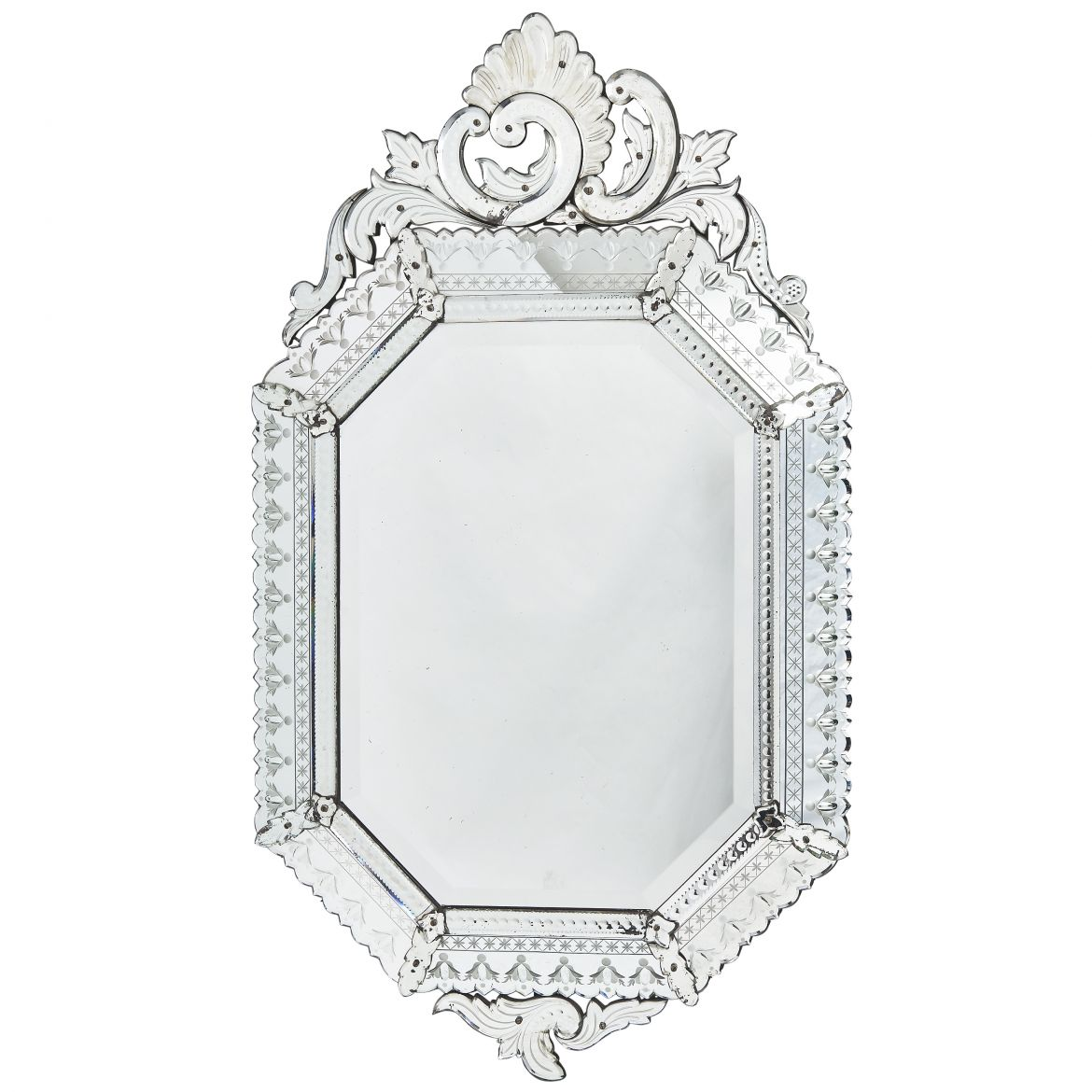 Venetian Octagonal Cushion Mirror
