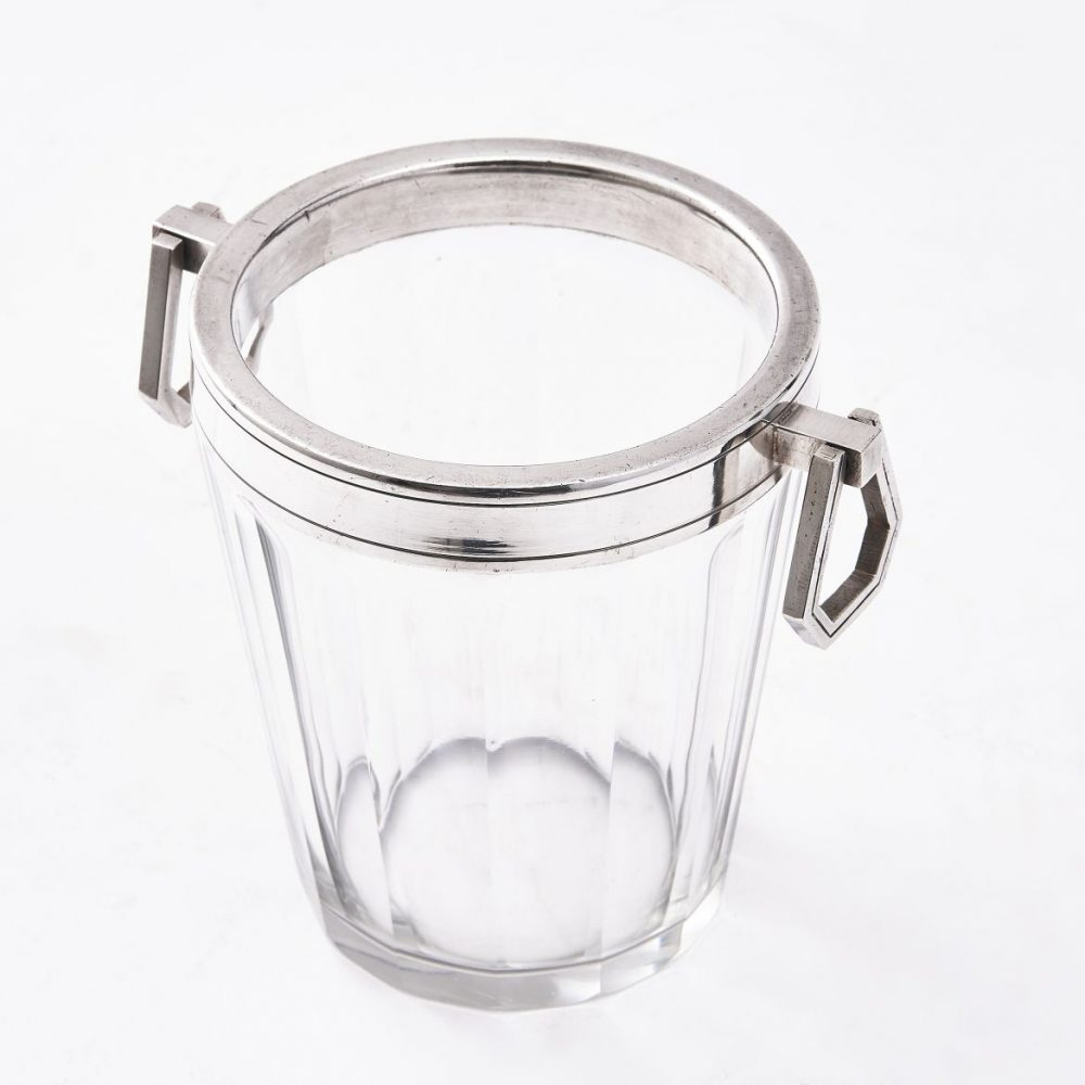 French Baccarat Crystal Ice Pail