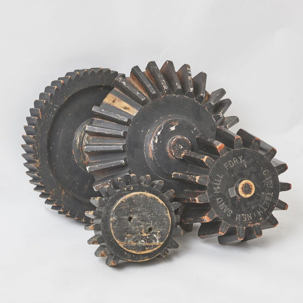 Collection Of Wooden Cogs