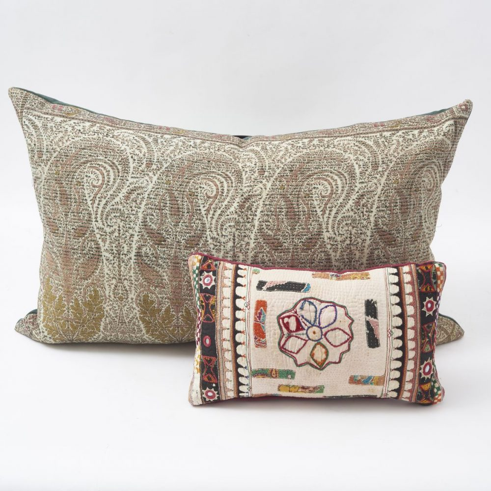 Paisley And Patchwork Cushions