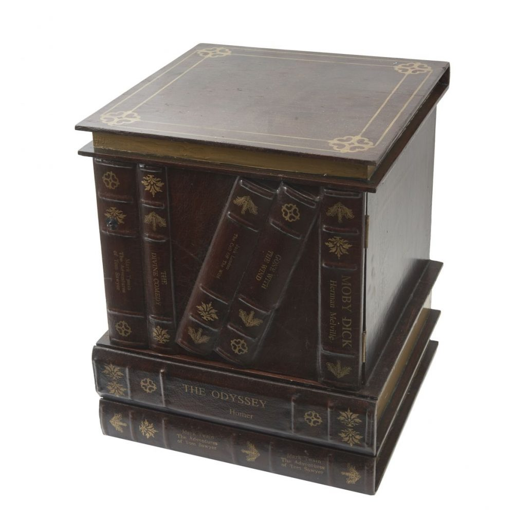 Bedside Cabinet In The Form Of Books
