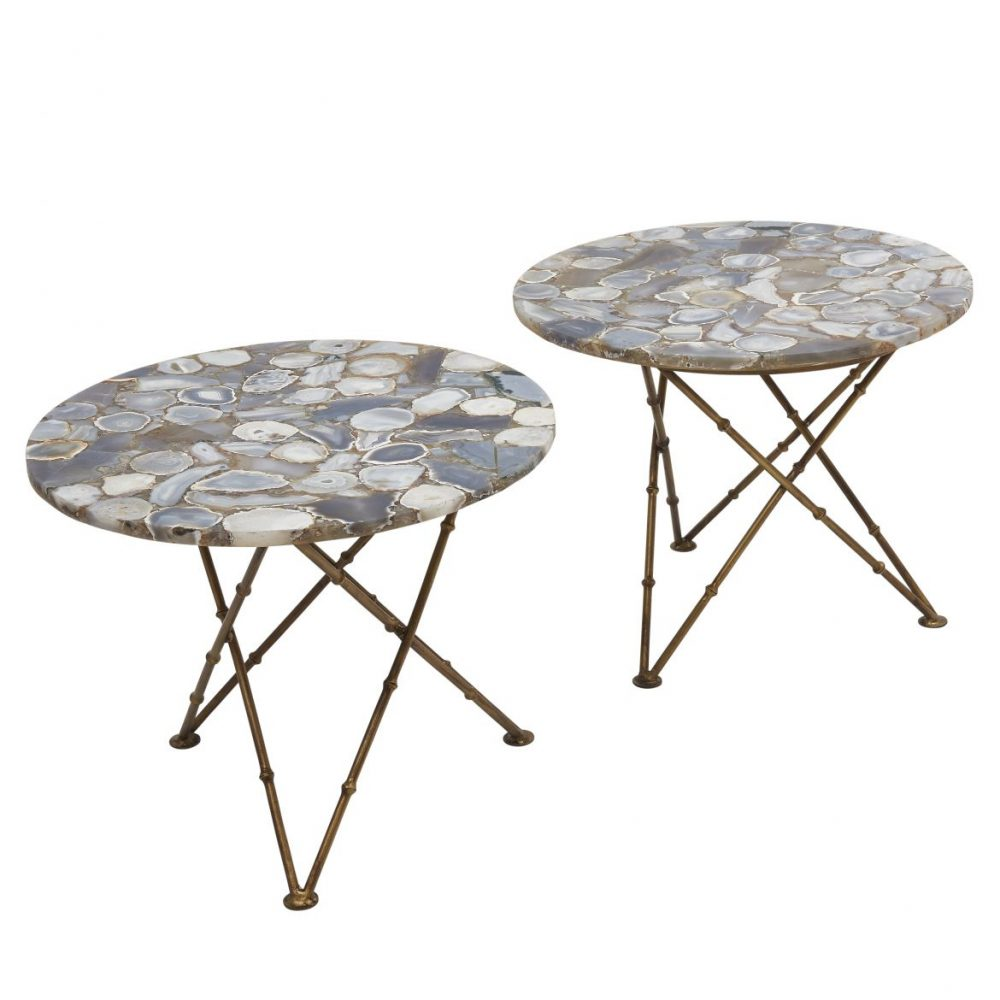 Contemporary Agate Tables