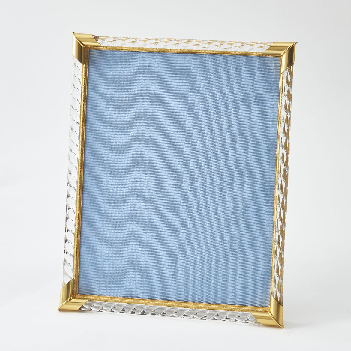 Gilt Bronze And Twisted Glass Frame