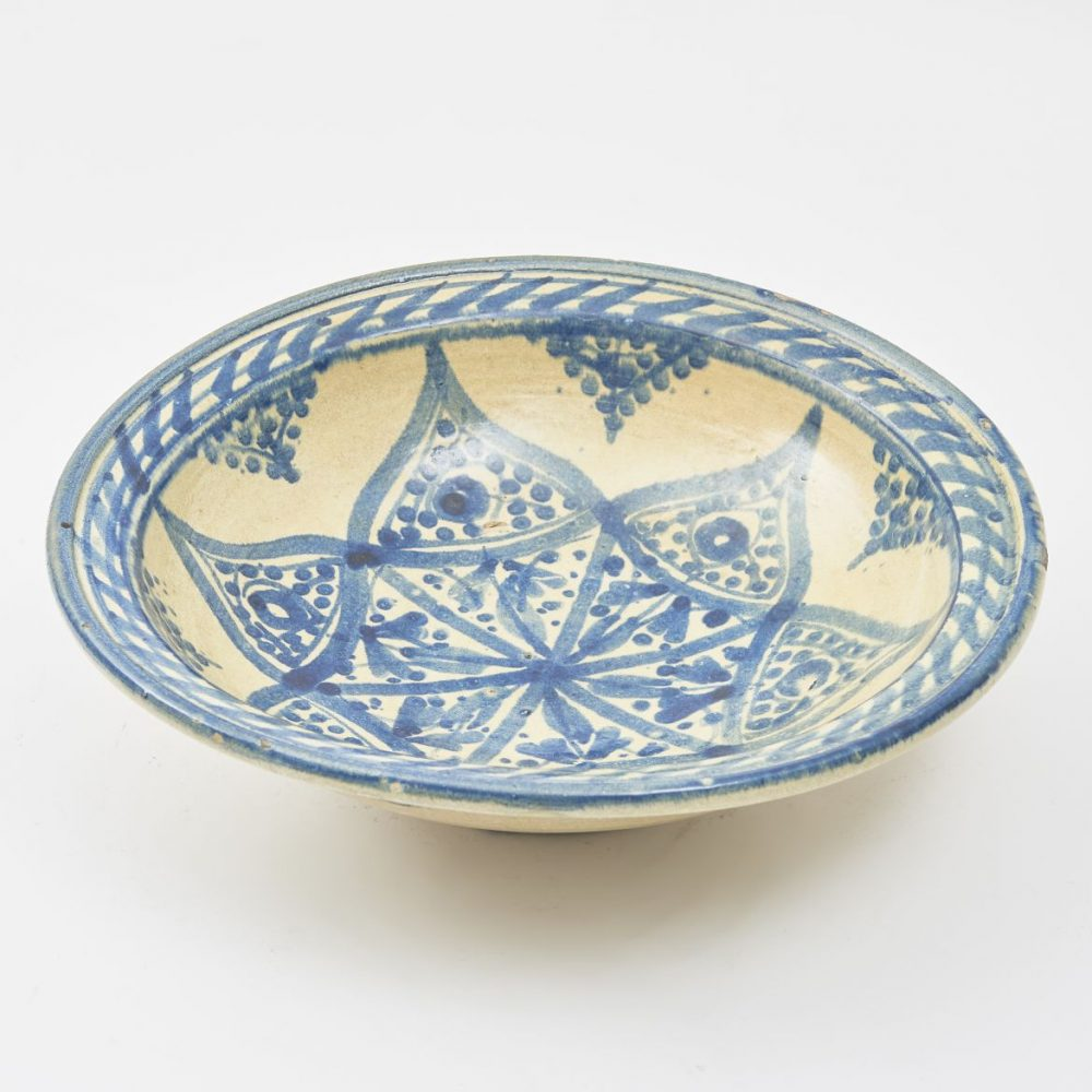 Moroccan Terracotta Bowl From Fès