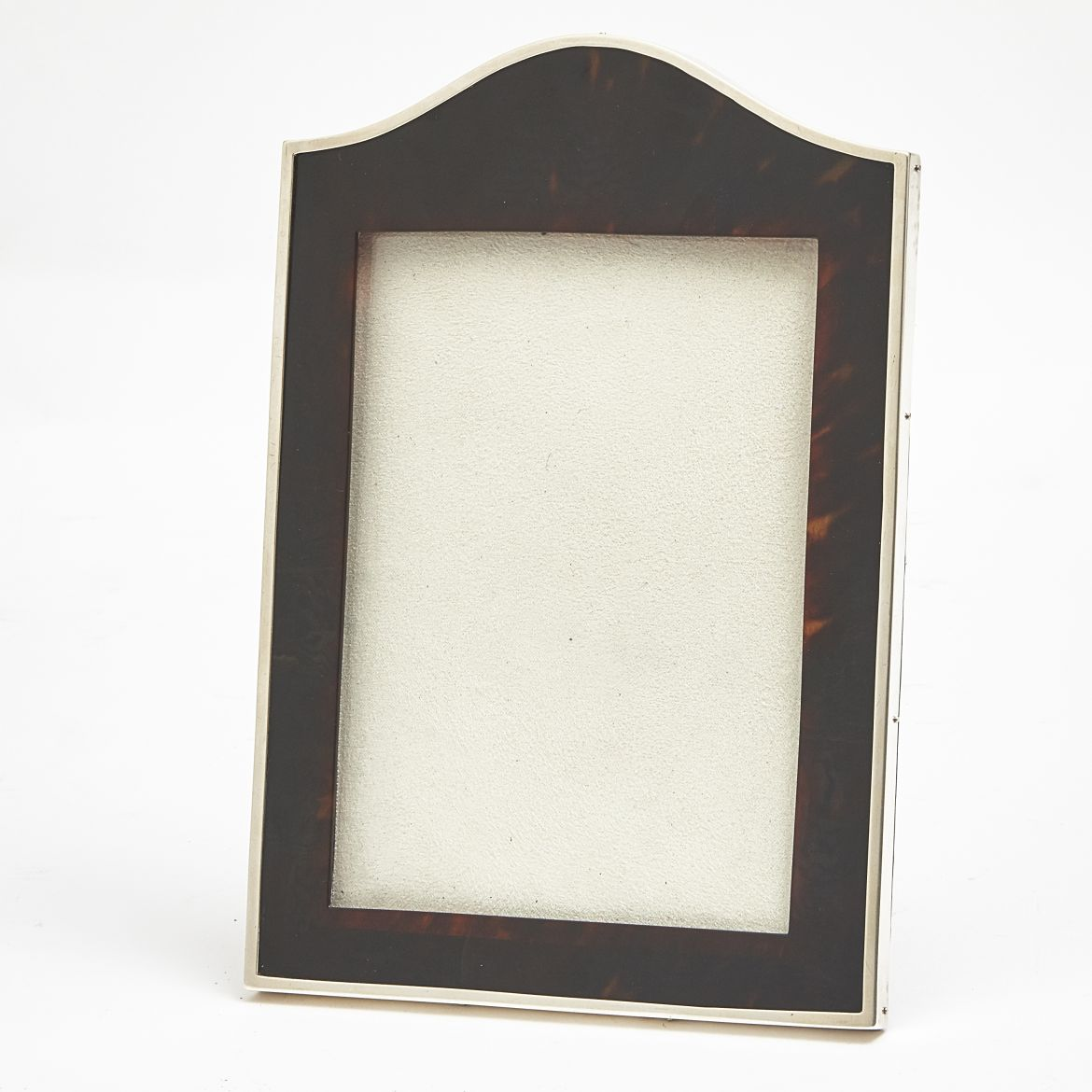Tortoiseshell Frame With Silver Mounts