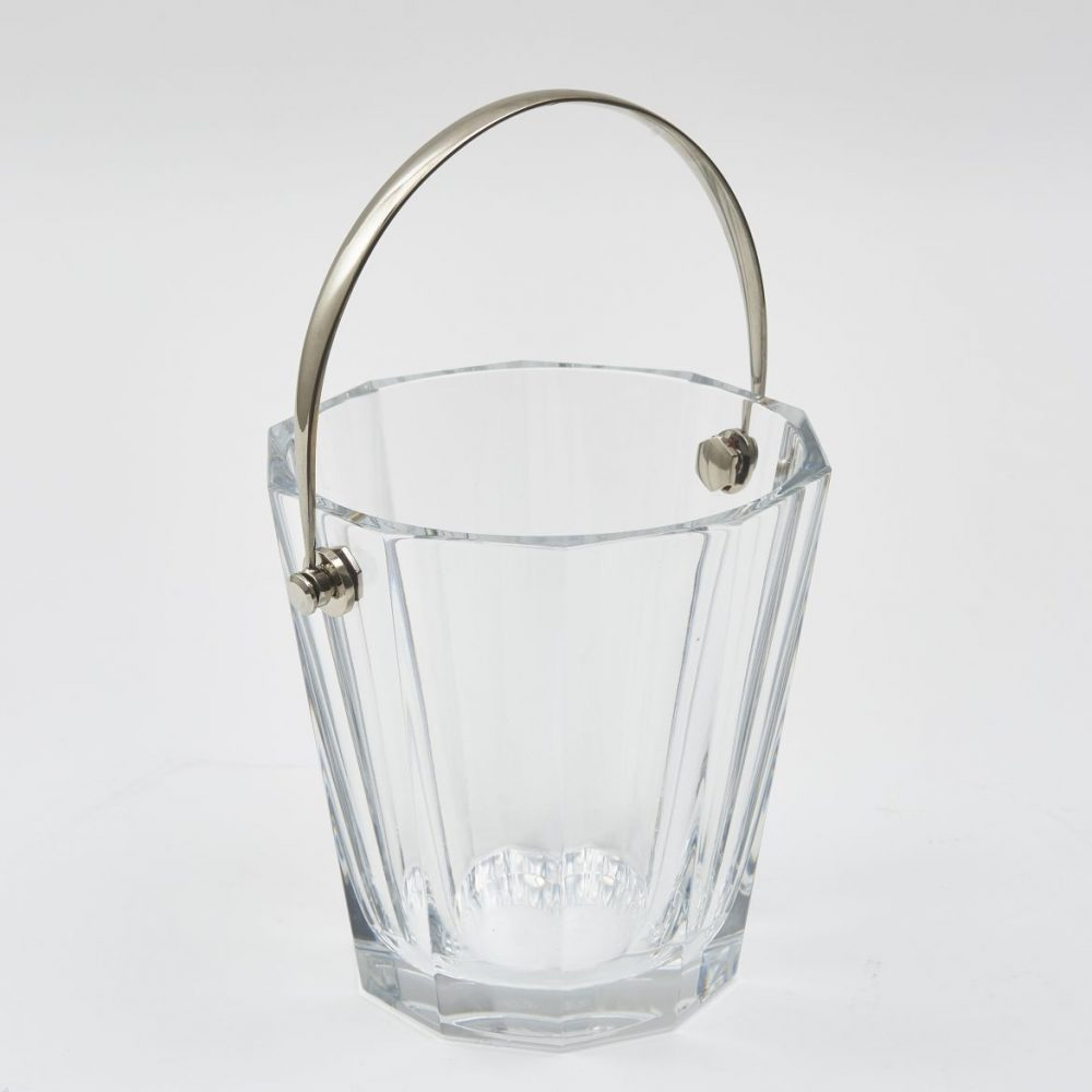 Baccarat Stamped Crystal Ice Bucket