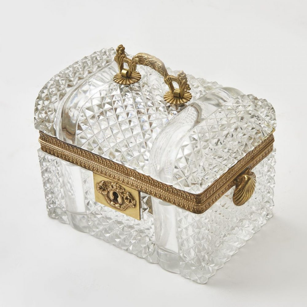 French Domed top Louis Philipe Glass Box