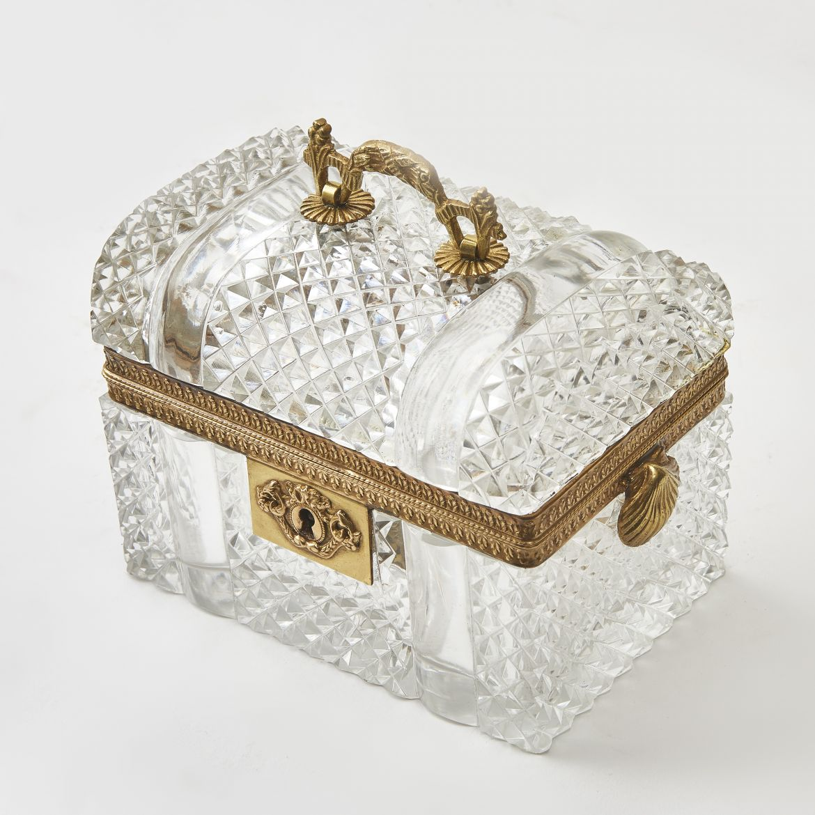 French Domed top Louis Philippe Glass Box