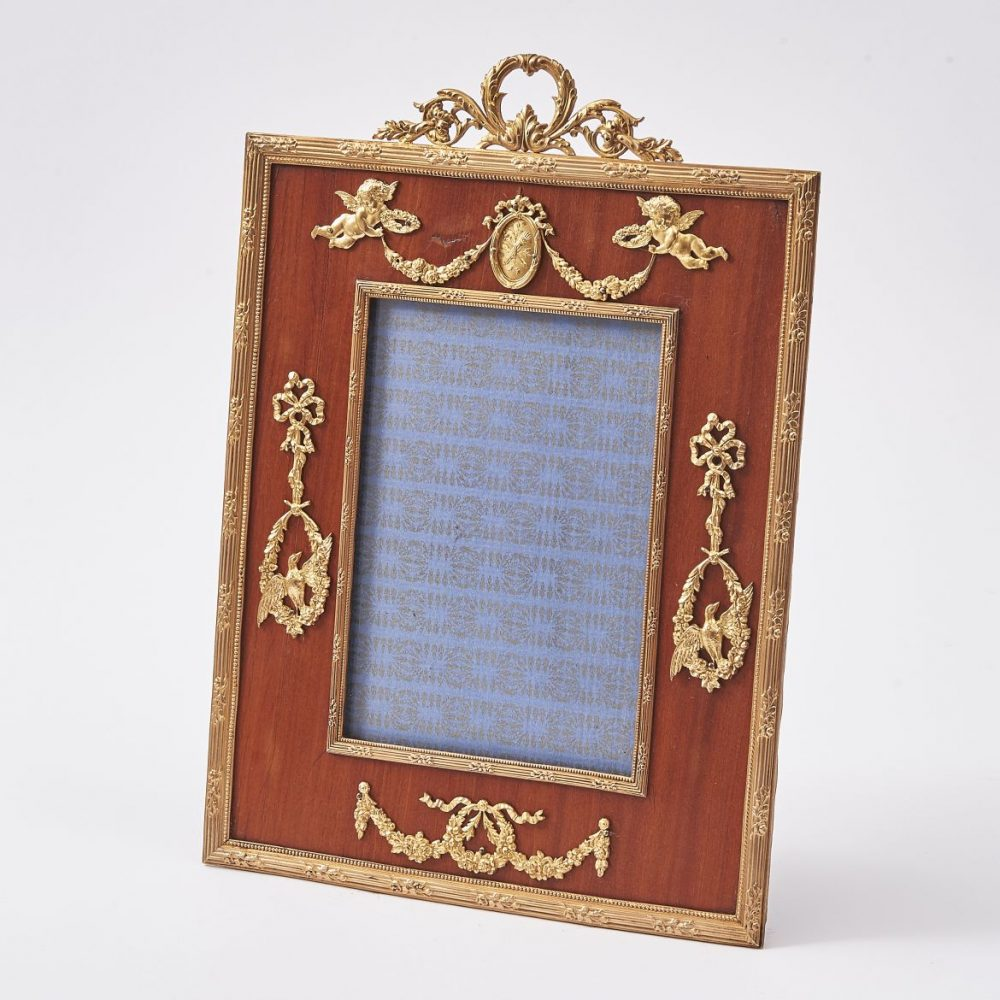 French Neoclassical Fruitwood Frame