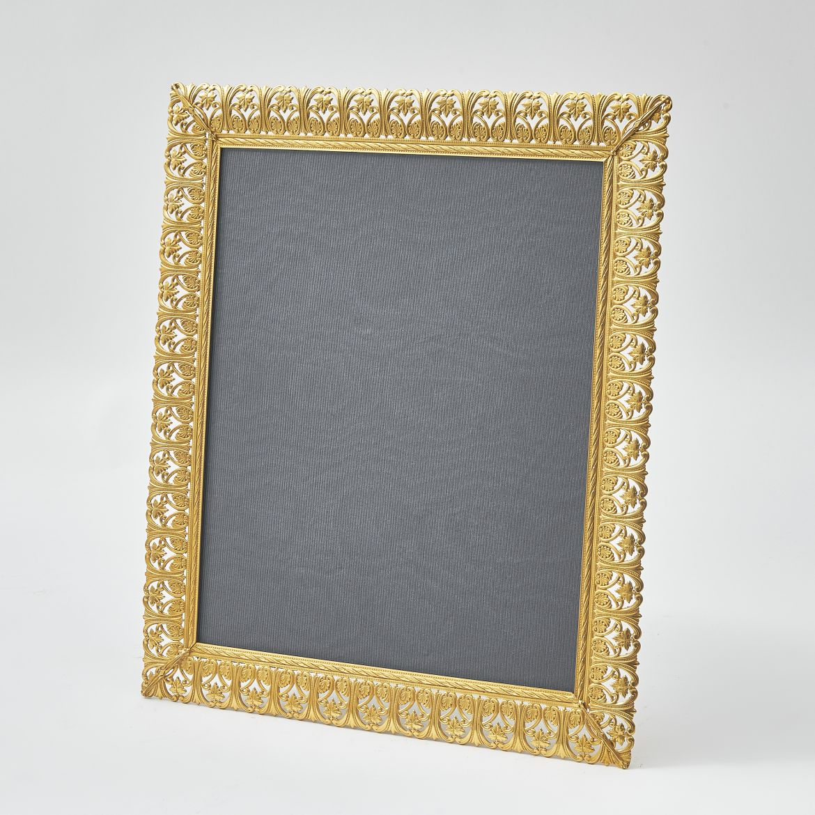 French Frame With Foliate Open Work Border