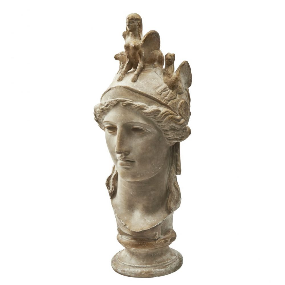 Plaster Bust Of The Farnese Athena